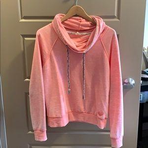 Roxy cowl neck sweatshirt sz Small